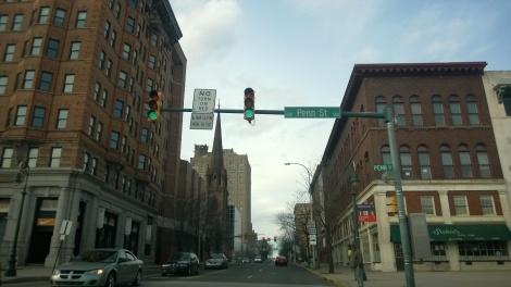 Downtown Reading PA
